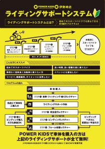 POWER-KIDS伊勢崎店 ライディングサポート
