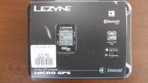 LEZYNE GPSサイコンのご紹介