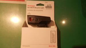 新型ライトBontrager ION450R入荷しました。