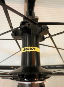 2016 MAVIC KSYLIUM ELITE BLACK HUB