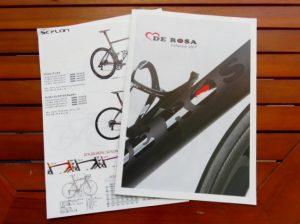 DE ROSAとTIMEが2017年モデルを発表!!カタログもあります。