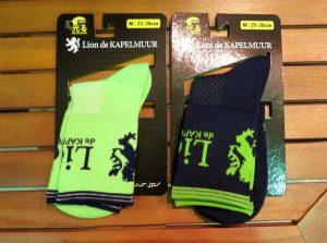lion de kapelmuur socks サイクルレーシングソックス ネイビーグリーン