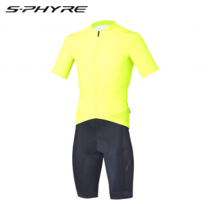 2017 shimano s-phyre racing skin suits yellow