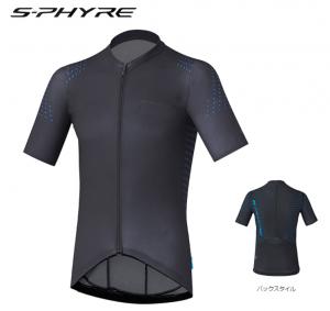2017 shimano s-phyre short sleeve jersey black