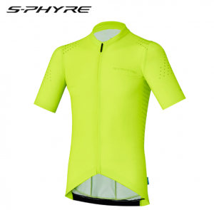 2017 shimano s-phyre short sleeve jersey yellow