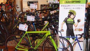 人気エントリーバイク!CAAD OPTIMO(キャドオプティモ)。