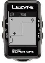 lezyne gps map