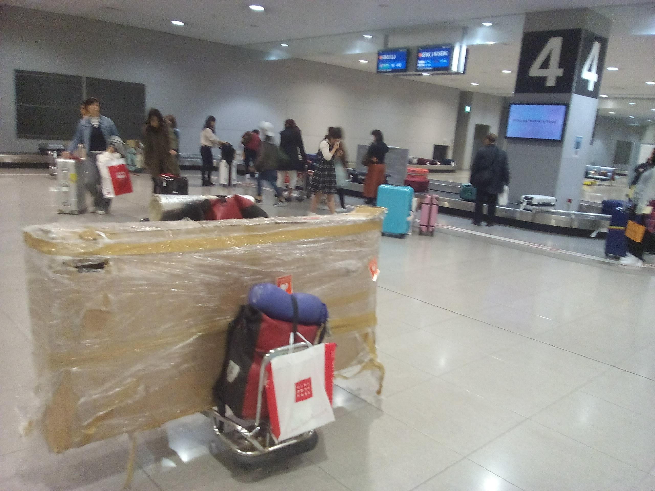 海外に国際線飛行機で輪行する①