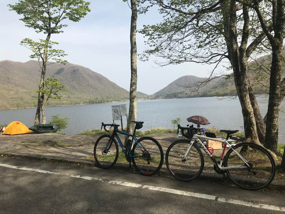県立赤城公園キャンプ場で自転車キャンプ。