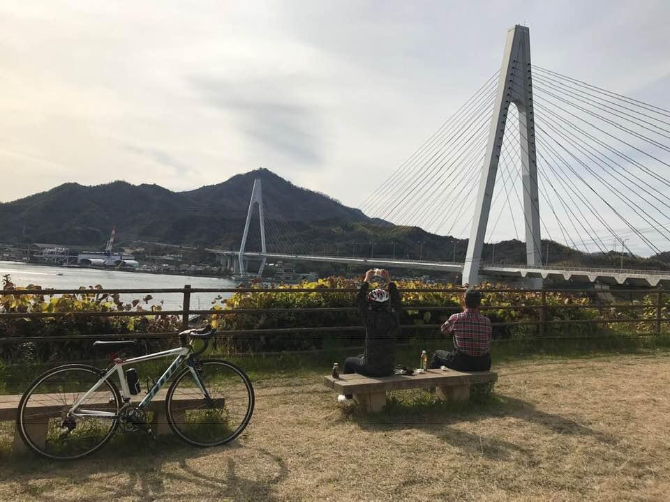 ルート紹介。しまなみ海道、ちょっとだけ。