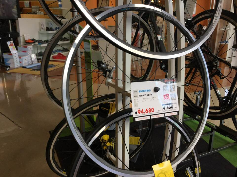 <SALE>SHIMANO WH-RS700、RS500