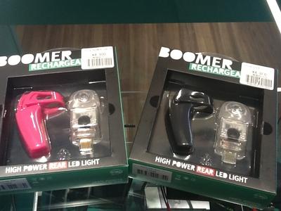 Knog BOOMER USB REAR☆