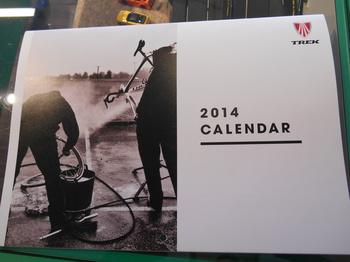 TREK 2014 カレンダー入荷(・ω・)ノ