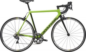 2018 cannondale supersix evo carbon ultegra green