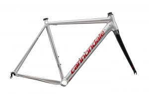 CANNONDALE CAAD12 COLORS FINE SILVER/RACE RED/グロス仕上げ