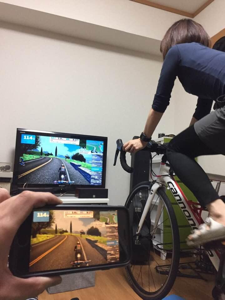 週末の走行会とZwift体験会(無料FTP計測)