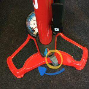 BONTRAGER Dual Charger Floor Pomp HVモード