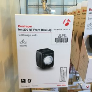 Bontrager Ion 200 RT Front Bike Light